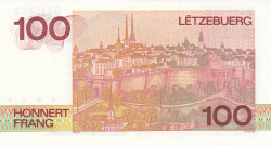 Image #2 of 100 Francs ND (1986)