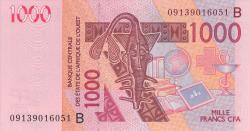 Image #1 of 1000 Francs 2003/(20)09