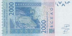 Image #2 of 2000 Francs 2003/(20)09
