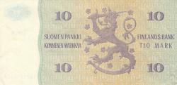 Imaginea #2 a 10 Markkaa 1980 - semnături Lindblom / Hämäläinen