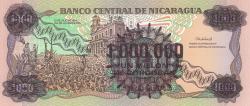 Image #2 of 1.000.000 Córdobas on 1000 Córdobas ND (1990)