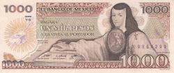 Image #1 of 1000 Pesos 1985 (19. VII.) - Serie YG