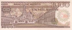 Image #2 of 1000 Pesos 1985 (19. VII.) - Serie YG