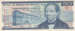 Image #1 of 50 Pesos 1981 (27. I.) - Serie JH