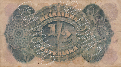 Imaginea #2 a 1/2 Libra Esterlina 1919 (15. IX.)