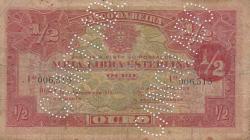 Imaginea #1 a 1/2 Libra Esterlina 1919 (15. IX.)