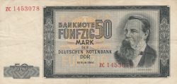 Image #1 of 50 Mark 1964 - replacement note