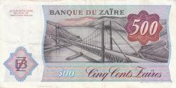 Image #2 of 500 Zaïres 1984 (14. X.)