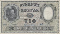 10 Kronor 1953 - 2