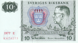 Image #1 of 10 Kronor 1977