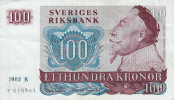 Image #1 of 100 Kronor 1982