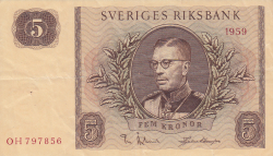 Image #1 of 5 Kronor 1959