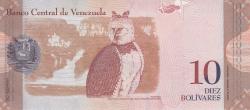 Imaginea #2 a 10 Bolivares 2014 (19. VIII.)