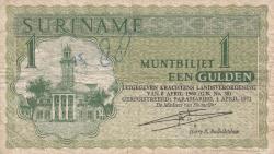 Image #1 of 1 Gulden 1971 (1. IV.)