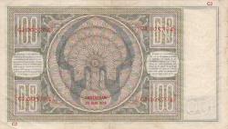Image #2 of 100 Gulden 1939 (20. VI.)