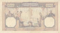 Image #2 of 1000 Francs 1931 (19. III.)
