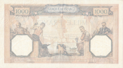 Image #2 of 1000 Francs 1939 (2. II.)