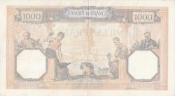 Image #2 of 1000 Francs 1940 (18. I.)