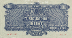 Image #1 of 1000 Korun 1944