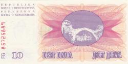 Imaginea #2 a 10000 Dinara 1993 (24. XII.)