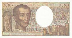Image #2 of 200 Francs 1990