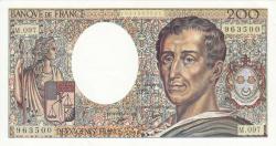 Image #1 of 200 Francs 1990