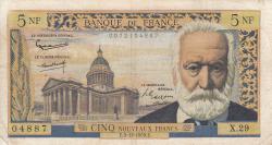 Image #1 of 5 Nouveaux Francs 1959 (3. XII.)