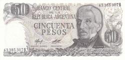 Image #1 of 50 Pesos ND (1976-1978) - signatures Alberto J. Camps/ Adolfo César Diz