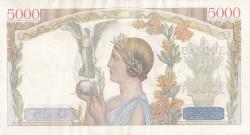 Image #2 of 5000 Francs 1942 (19. III.)