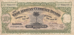 Image #1 of 10 Shillings 1942 (1. XII.)