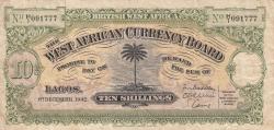 10 Shillings 1942 (1. XII.)