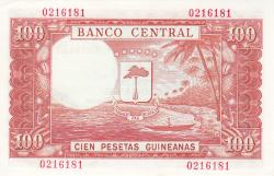 100 Pesetas Guineanas 1969 (12. X.)