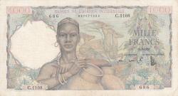 Image #1 of 1000 Francs 1950 (18. IX.)