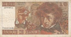 Image #1 of 10 Francs 1977 (2. VI.)