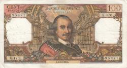 Image #1 of 100 Francs 1966 (2. VI.)
