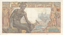 Image #2 of 1000 Francs 1943 (18. II.)