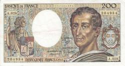 200 Francs 1985