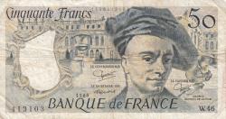 50 Francs 1986