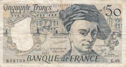 Imaginea #1 a 50 Franci 1987