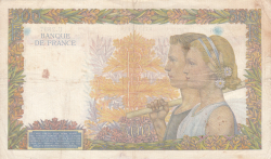 Image #2 of 500 Francs 1941 (8. V.)