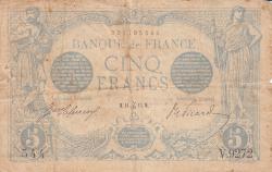 Image #1 of 5 Francs 1915 (11. I.)