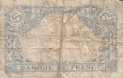 Image #2 of 5 Francs 1916 (14. X.)