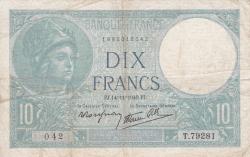 Image #1 of 10 Francs 1940 (14. XI.)