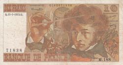 Image #1 of 10 Francs 1975 (15. V.)