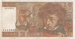 Image #1 of 10 Francs 1977 (3. III.)