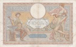 Image #2 of 100 Francs 1937 (30. XII.)