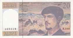 Image #1 of 20 Francs 1993
