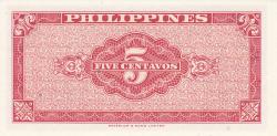 Image #2 of 5 Centavos ND (1949)