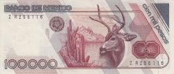 Image #2 of 100,000 Pesos 1988 (4. I.) - Serie V