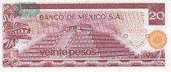 20 Pesos 1977 (8. VII.) - Serie CZ